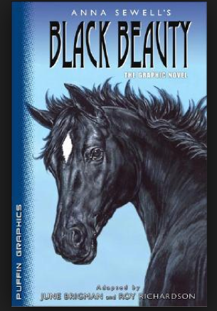She illustrated the classic BLACK BEAUTY!