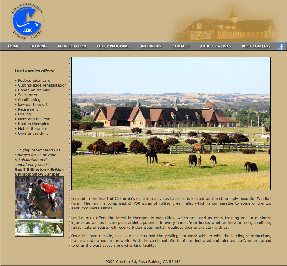 This is the website of Los Laureles Equine, the rehab facility that uses the Theraplate.  They have been kind enough to give me some insight into what to expect - they are very positive! As an aside, isn't Creston beautiful?!  This is exactly where we tried to purchase 4 different homes last year.  We were unsuccessful (cash buyers...) every time.  Love it there, sigh.