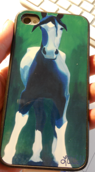 I love this phone case.  It reminds me of the original painting that I have seen in person - it is 8' tall!  My favorite.