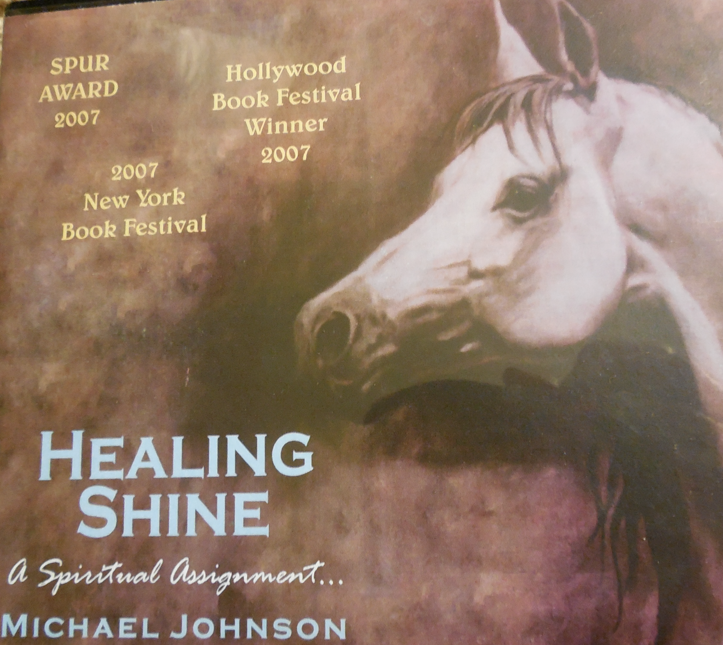 Click image to purchase the one remaining Audio CD of HEALING SHINE.  100% if the purchase price is donated to the Bucket Fund! (If the link doesn't work, then  it has been sold - sorry!)
