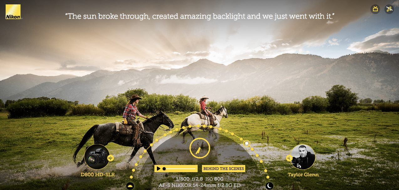 This ad was shot with real wranglers from the R Lazy S on the R Lazy S...