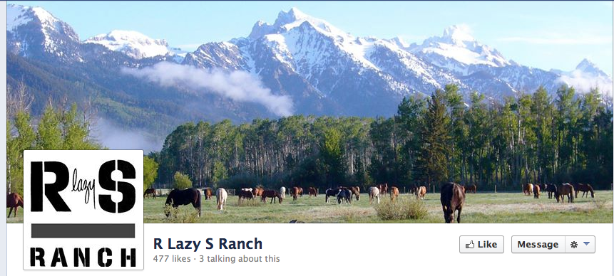 Click image to go to the R Lazy S Ranch FB page with lots of beautiful pics!