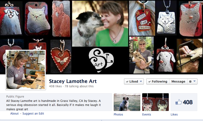 Click to go to Stacey's FB page.