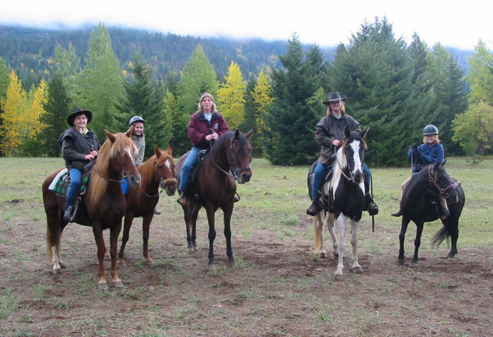 Summer was an avid trail rider and would take anyone riding.  She always exuded confidence out there...