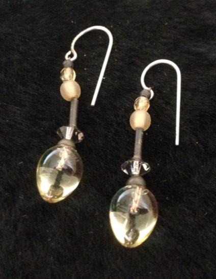 Citrine Drop earrings.