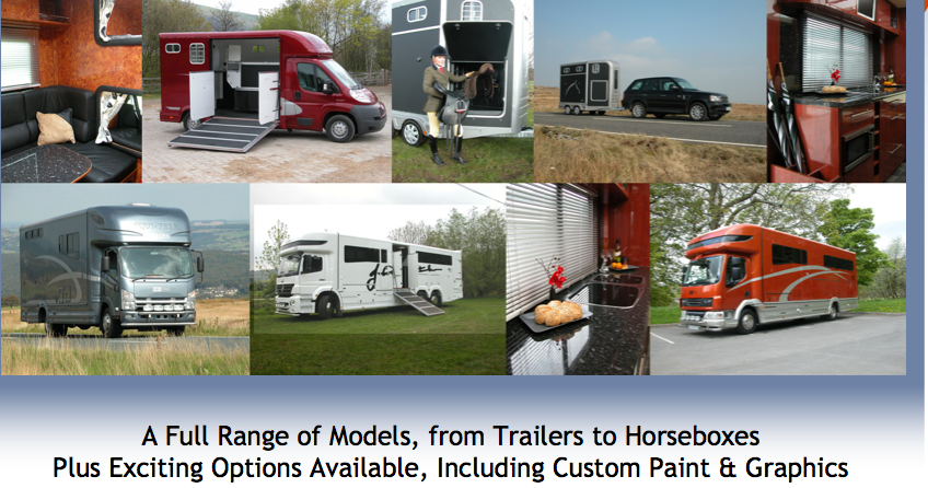 Now Equi-Trek trailers and horseboxes are available in the US!