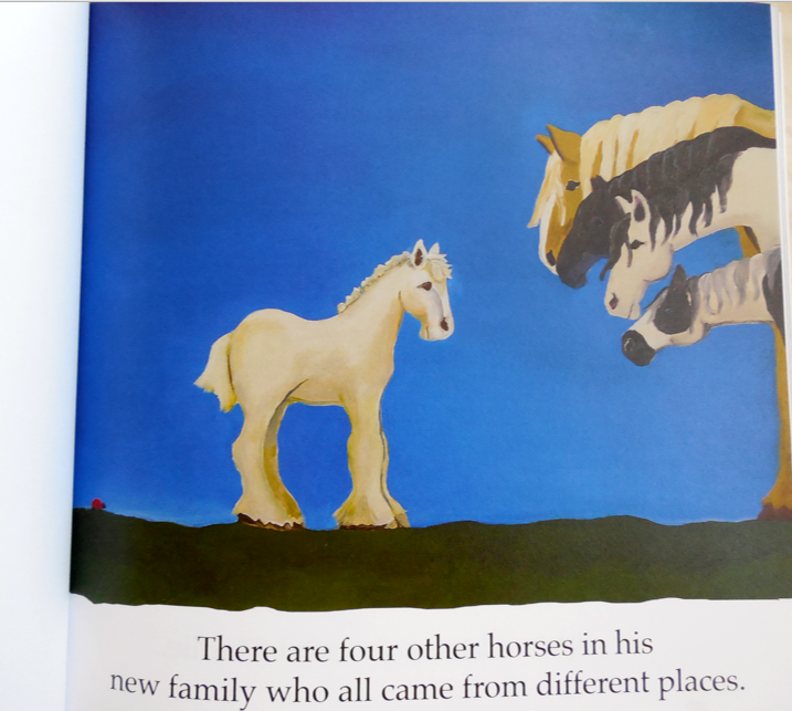 I love this one because I do know all of Leslie's horses and this is a perfect depiction.