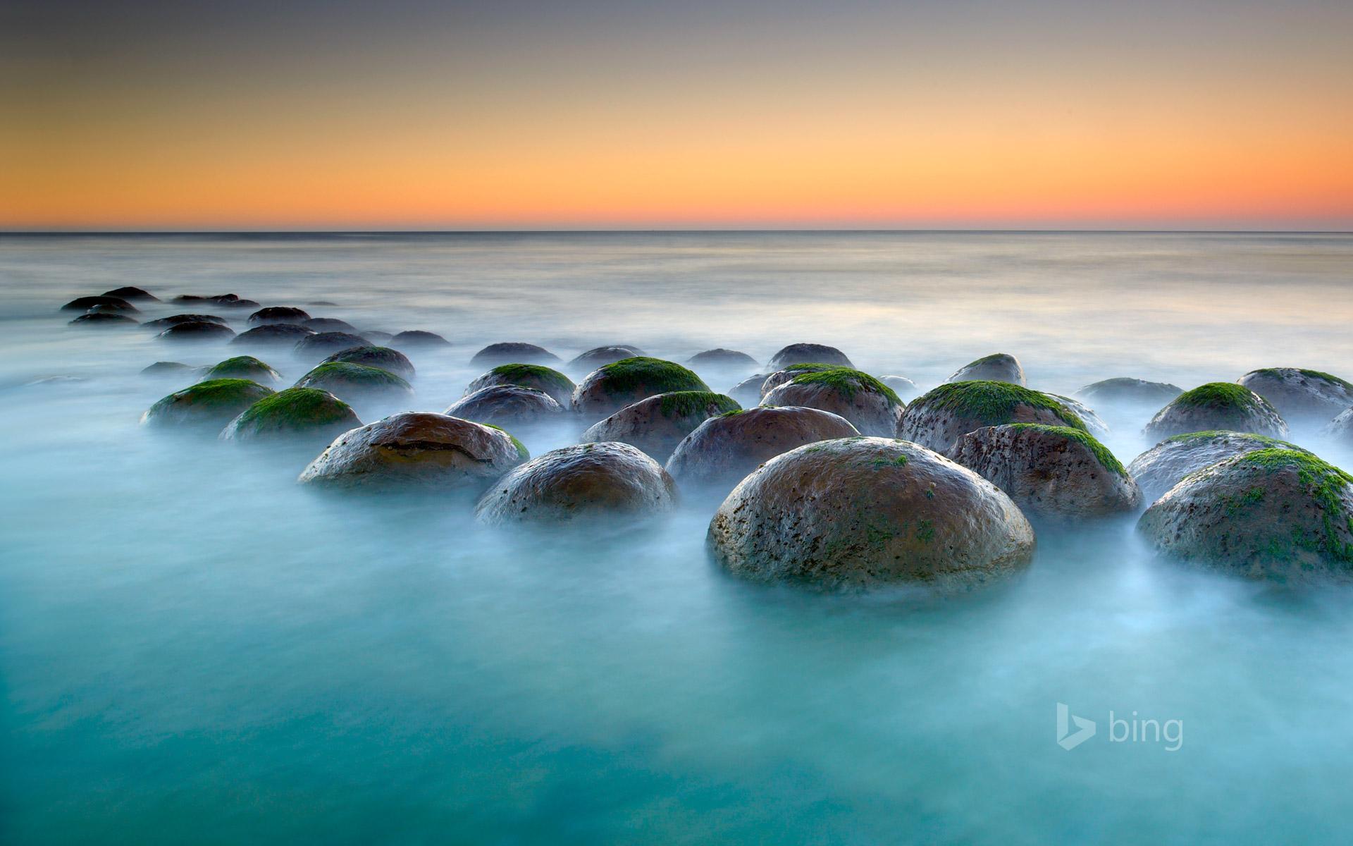 Bowling Ball Beach near Point Arena, California