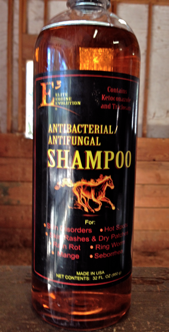 This is what I used for her skin fungus.  I also use it for rain rot.  NO AFFILIATION.  I picked this up at the local feed store.