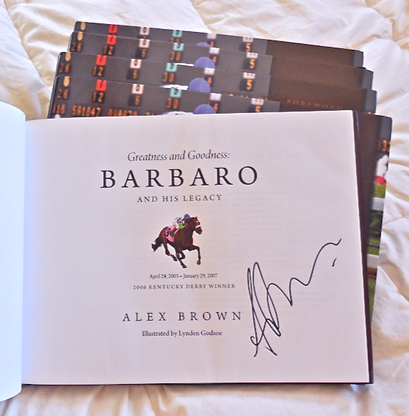 Alex generously donated 5 signed books for THE BUCKET FUND!  Click link above to purchase for $40!