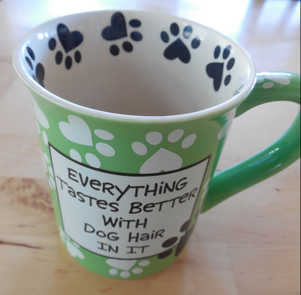 The favorite mug...