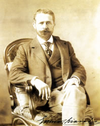 Enrico Chiaradia, the artist.