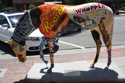 This is cheating... but it is kindof a chocolate horse...