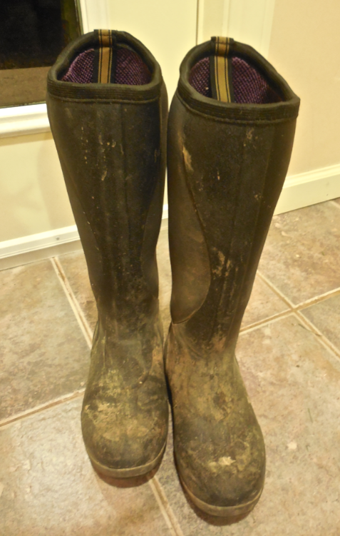 You could not get these away from me.  I wear them every day - not just in the mud, every single day.  I love them!  They are like slippers for chores!