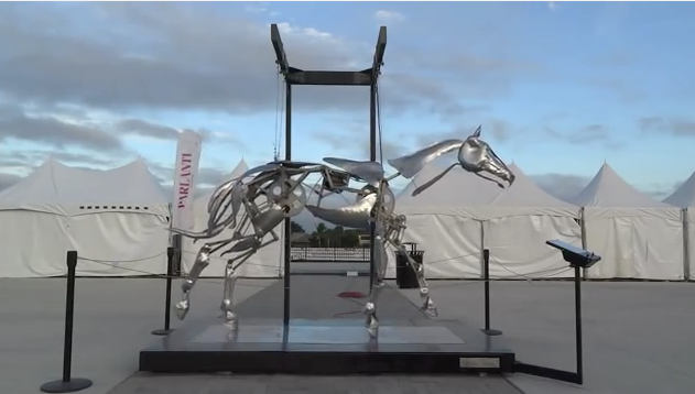 Click to watch the video of this moving sculpture.