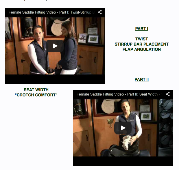 These videos are GREAT!   They use a female narrator and a female model to tell the story and it all makes total sense!  Click here to watch the videos!