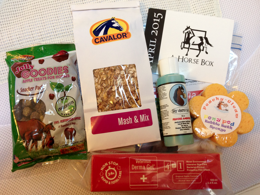 What arrived in my A HORSE BOX this month!