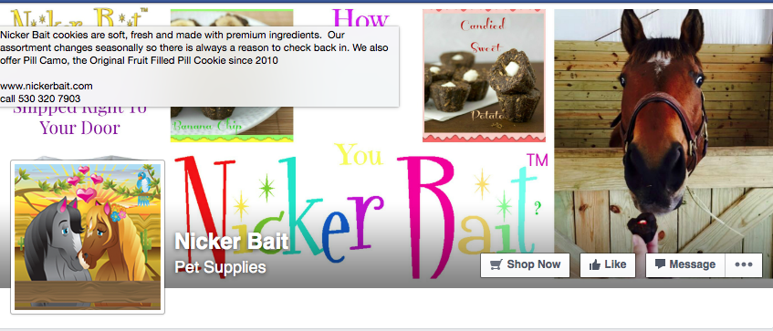 Here is a link to the Nicker Bait FB page.