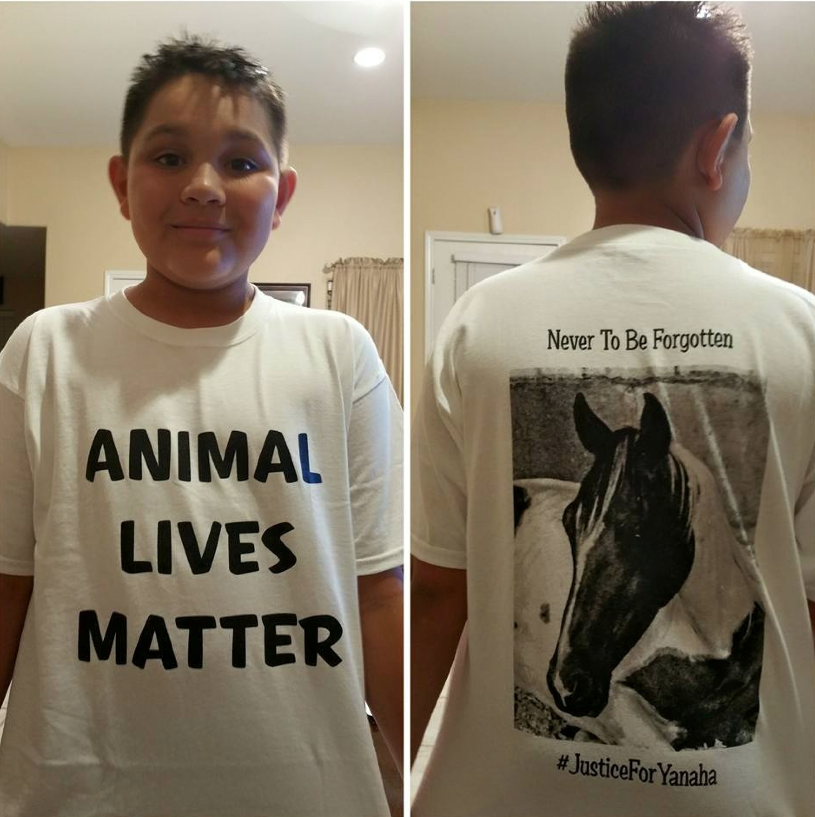 Teach your kids young about kindness to animals and all beings.