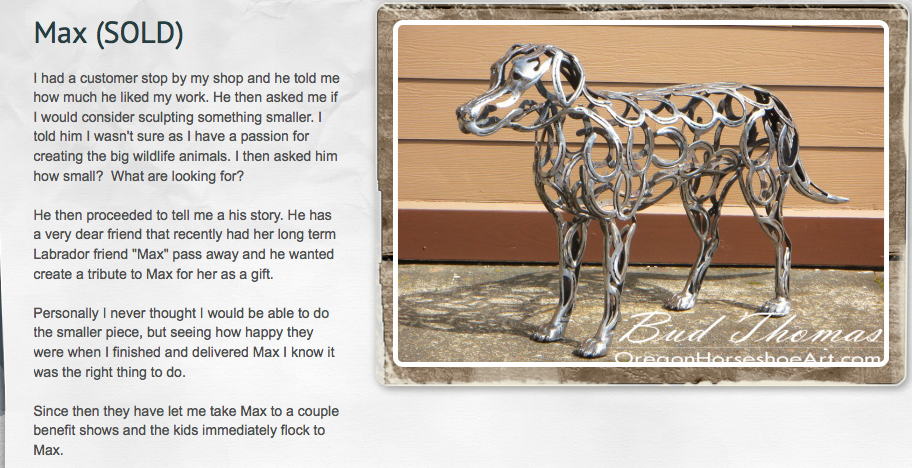 Max's story...