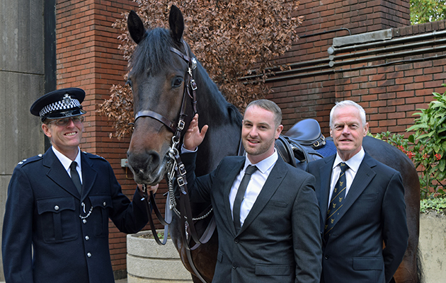 Alistair Blamire, a horse trainer for the Metropolitan Police who was riding Quixote (the horse) when the attack happened, David Wilson and PC Andrew Hill, who was riding alongside Alistair and Quixote on another horse