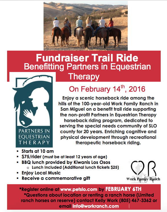 This was the flyer for the Benefit Ride. I thought it might be a great way to network and get to know riders in my, hopefully, new town!