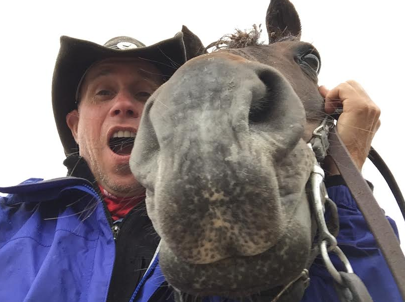 Last but not least, Cowboy kisses from Wyoming!