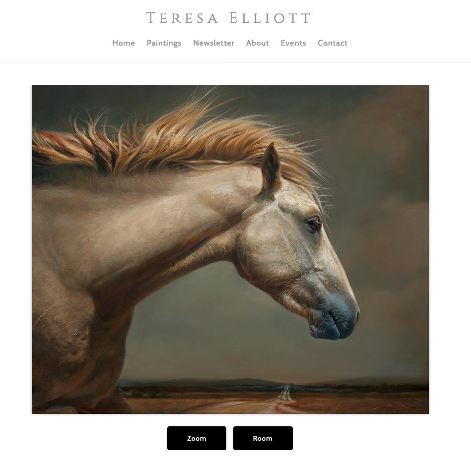 Teresa Elliott pintou um cavalo.  Meu Deus.  INCRÍVEL.  Veja isso! 2