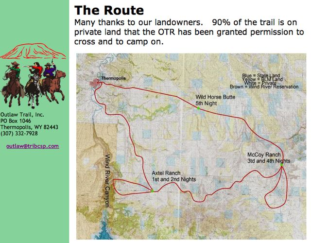 The Route!