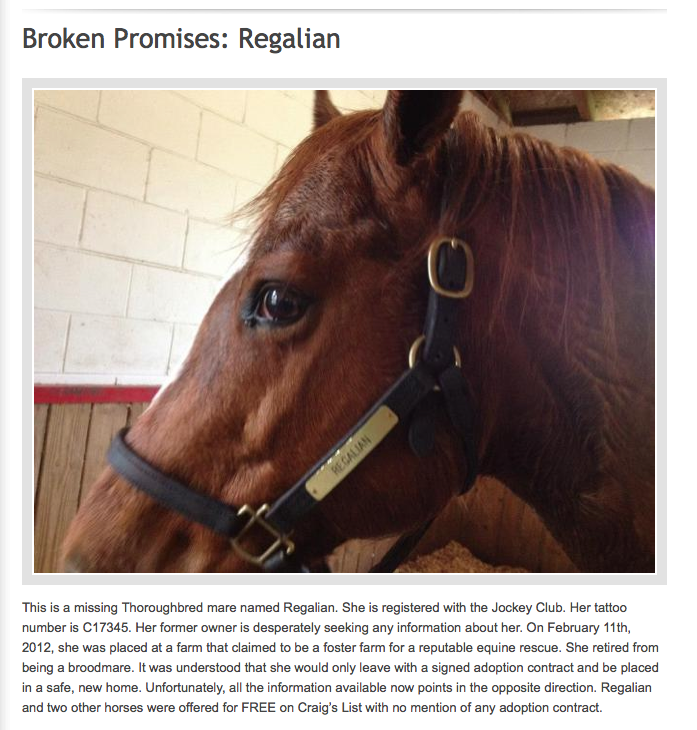 Click image to read the story of Regalian.