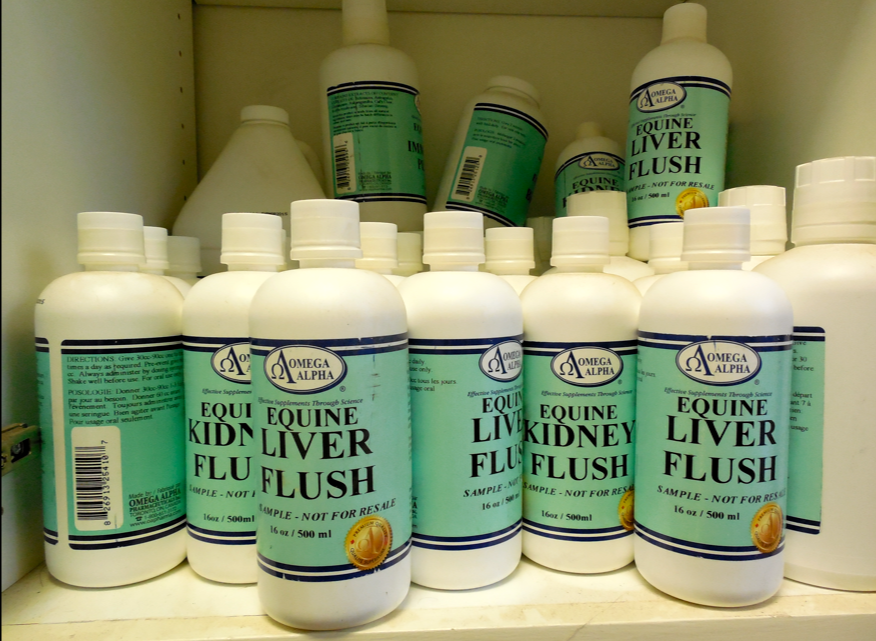 This is my cabinet full of Omega Alpha Kidney Flush and Liver Flush.  If you need any, please contact me and tell me why - send your address and a pic!