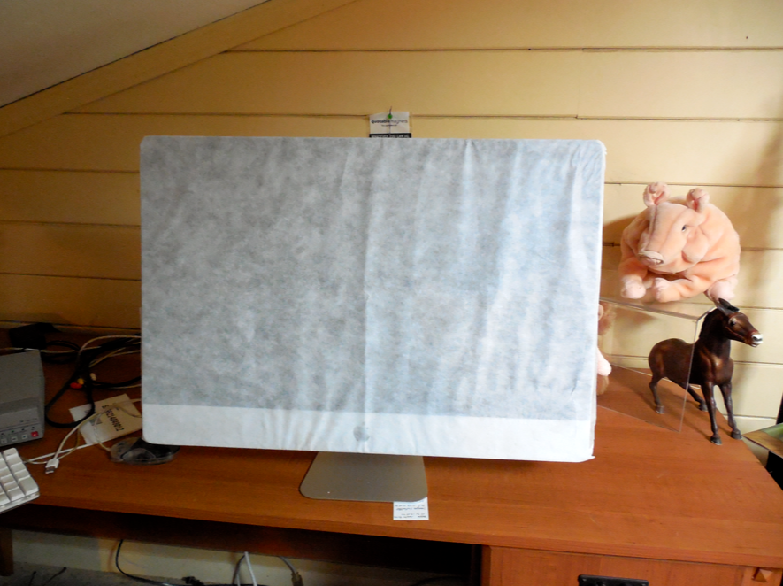 It even had its original foam paper wrapper.