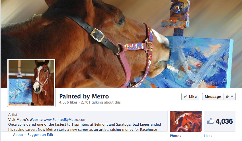 Click to see MM's FB page! - and new work!