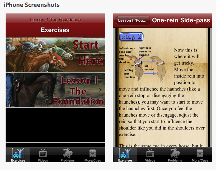 Another app... I like the overhead shots.  Click to go to the site