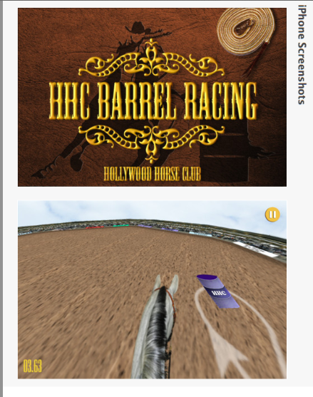 I don't think this will help with barrels but it looks like fun.  click to go to app