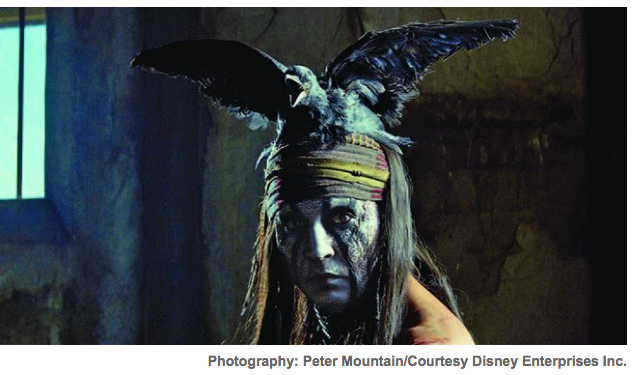 Johnny Depp's version of Tonto...