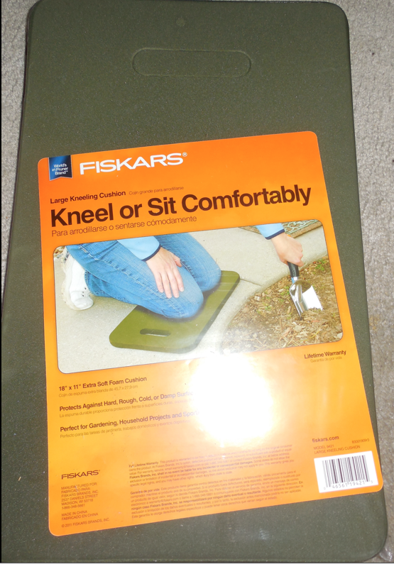 These are the garden knee pads I purchased to replace the inserts of my Soft Ride boots.
