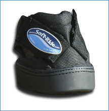 Except the velcro straps are now diagonal.  Really easy.