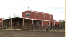 This is the official photo of the barn...