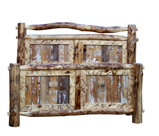 Repurposed Wood Bed Frame. Excellent Repurposed Wood Bed Frame With ...
