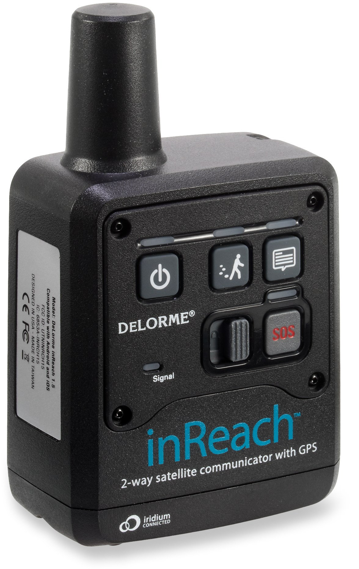This is the InReach device (no affiliation).  It can text via satellite when you have no signal.