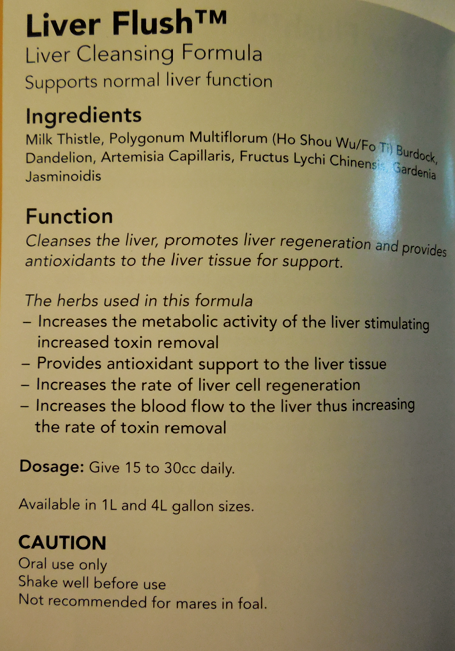 LIVER FLUSH in more detail.